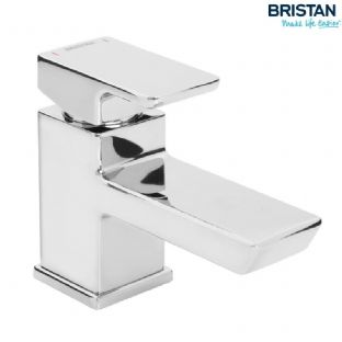 Bristan Cobalt Basin Mixer with Clicker Waste
